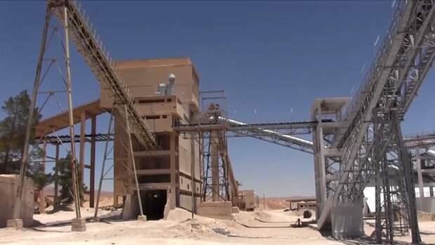 Фосфатный завод в сирийском Хнейфисе возобновил свою работу