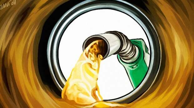 Законопроект об изменении демпфера на бензин внесен в Госдуму