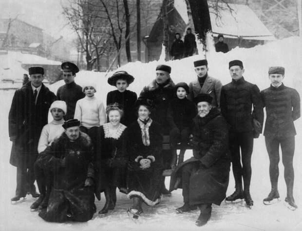 Петербургское общество любителей бега на коньках