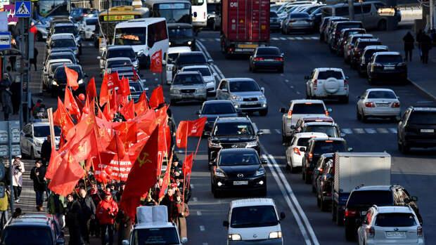 Во Владивостоке начали проверку из-за флагов к 9 мая