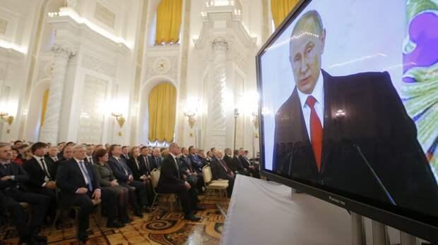 NYT: В «момент триумфа» Путин казался удивительно сдержанным
