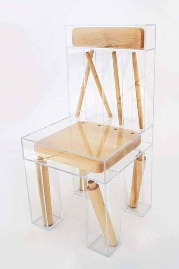 Даже старую табуретку можно представить в ином виде Фабрика идей, дизайнеры, идеи, интересное, необычное, табуреты