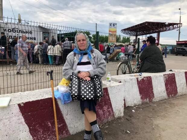 Сотни тысяч пенсионеров с Донбасса могут остаться без пенсий после 1 ноября