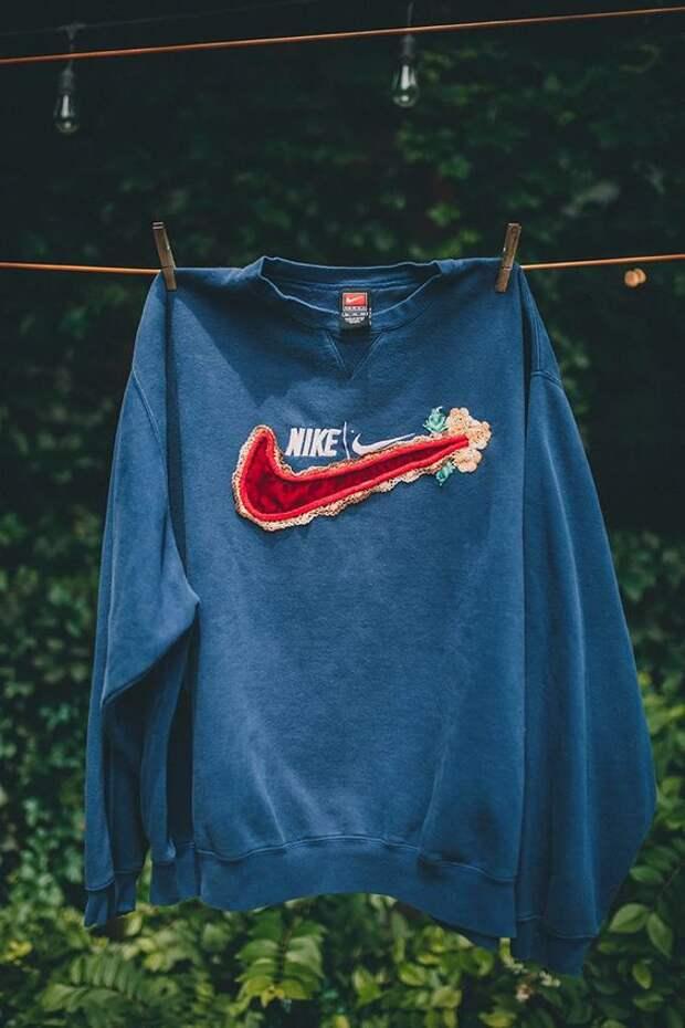 Украшеный лого Nike