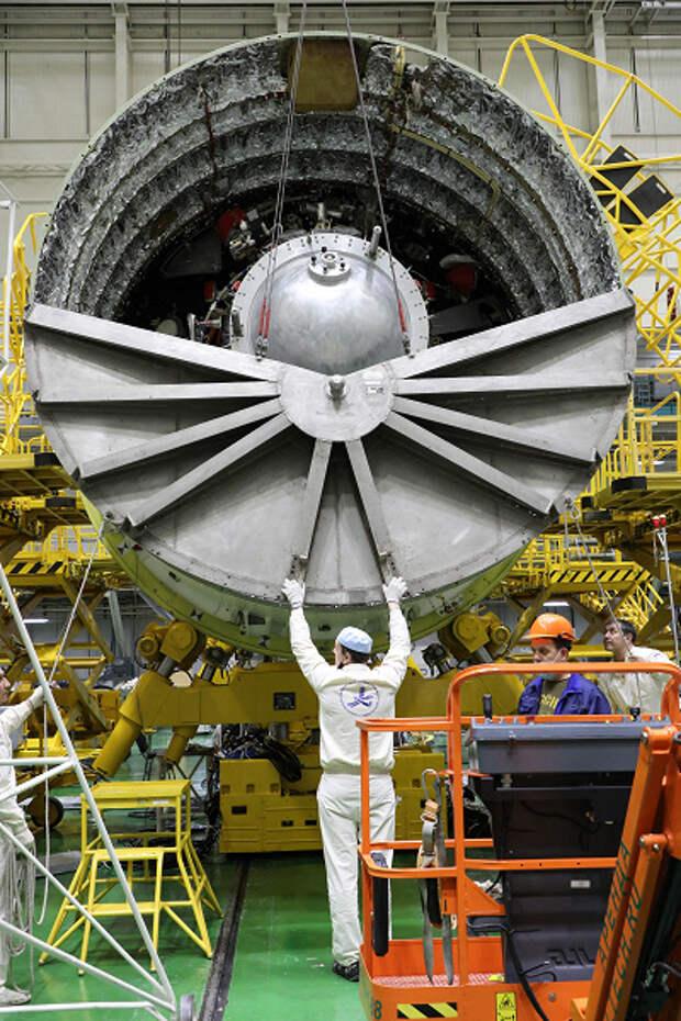 Роскосмос показал испытания модуля «Наука» для МКС