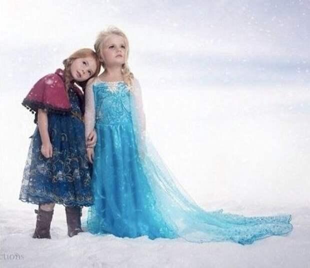 Мамочки сшили для дочек костюмы. Что скажете?