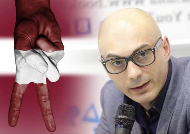 Гаспарян возмутился «реакции» России на притеснение журналистов в Латвии