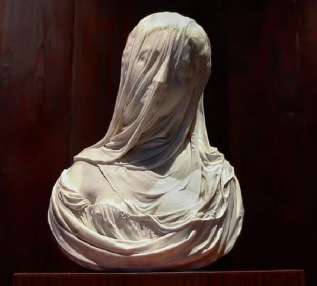 Антонио Коррадини. «Бюст дамы под вуалью» («Чистота»), 1720-е