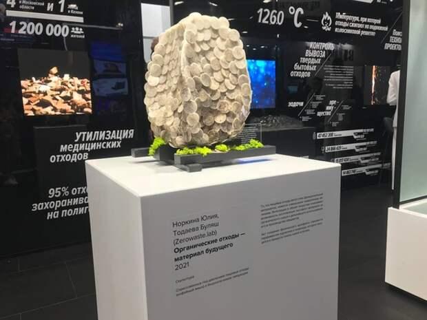 На ПМЭФ представили арт-объекты из вторресурсов