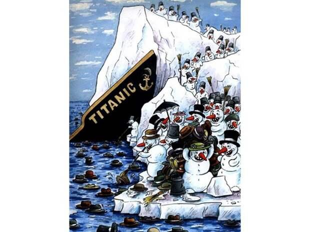 Об опасностях расколотого айсберга под названием USA... И плавающего на нём 46-го президента
