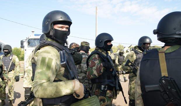 Уздания медицинского центра вОренбурге нашли боевой арсенал