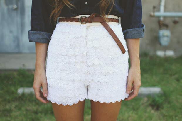 Самая летняя одежда: интересные идеи переделок шорт