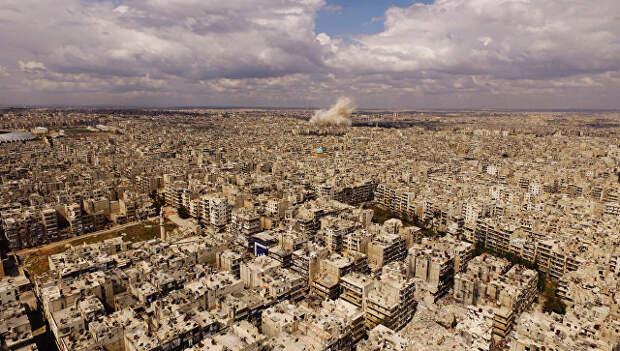 Вид на город Алеппо. Архивное фото