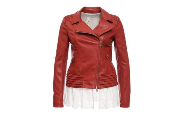 модная куртка косуха Patrizia Pepe