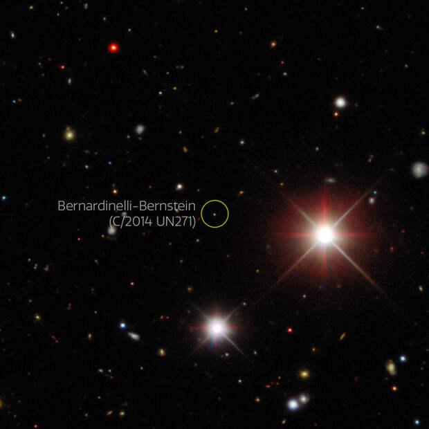 «Проснулась» огромная комета, движущаяся к нам из далёкой окраины Солнечной системы