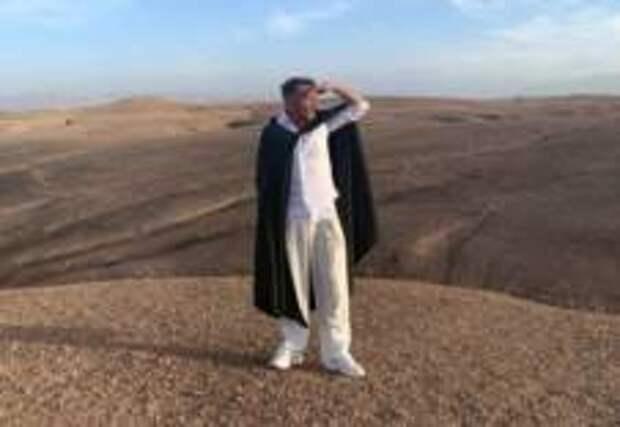 «Шнур» спрятался в пустыне