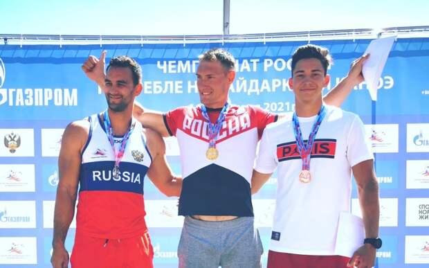 Рязанский гребец Евгений Луканцов выиграл Чемпионат России