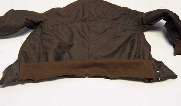 Детская мото-куртка (Diy)