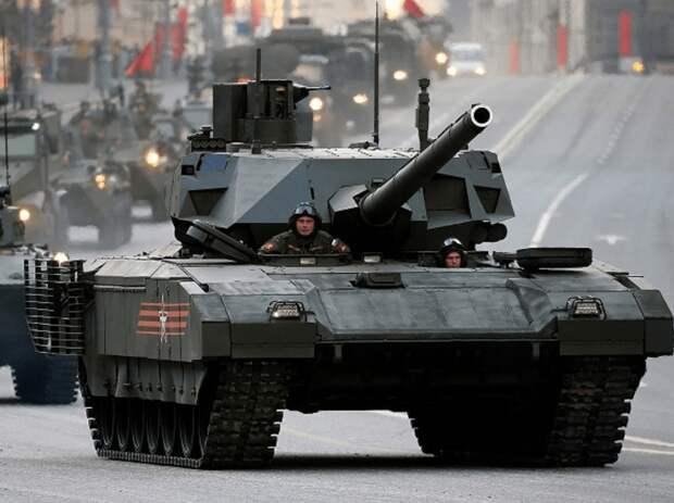 Россия: могучая Армата запускается в производство