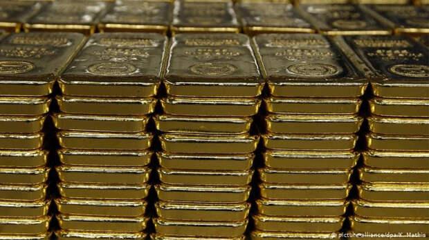 Золото уверенно растет в цене, нацелившись на $1900 за унцию