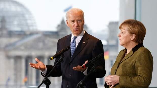 """Байден и Меркель поговорили о """"Северном потоке"""""""