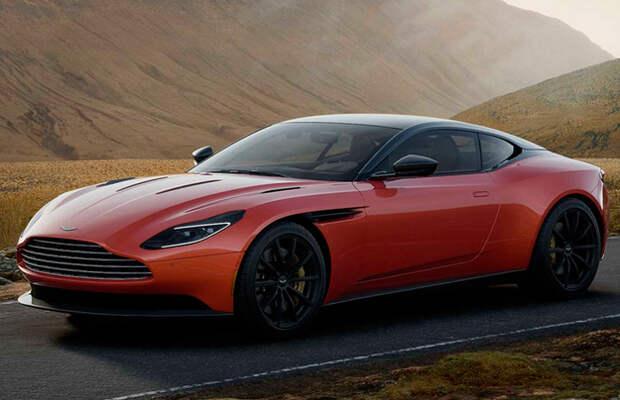 Aston Martin DB11 стал мощнее