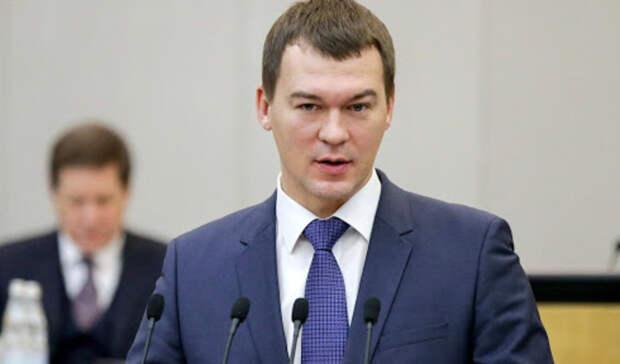 Михаил Дегтярев сообщил оначале летней навигации вХабаровском крае
