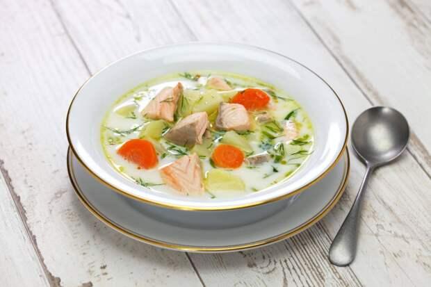 Лохикейтто, финский традиционный суп из лосося