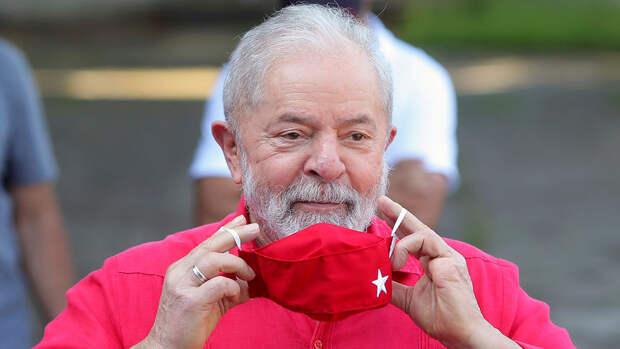 Верховный суд Бразилии поддержал отмену приговоров экс-президенту Луле да Силве