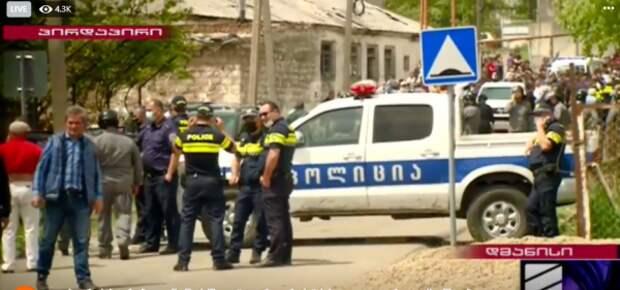 МВД Грузии призвало дманисцев недопустить этнического противостояния