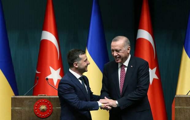 «Очень сильно выгребем»: Эрдоган втянул Зеленского в свои игры против России
