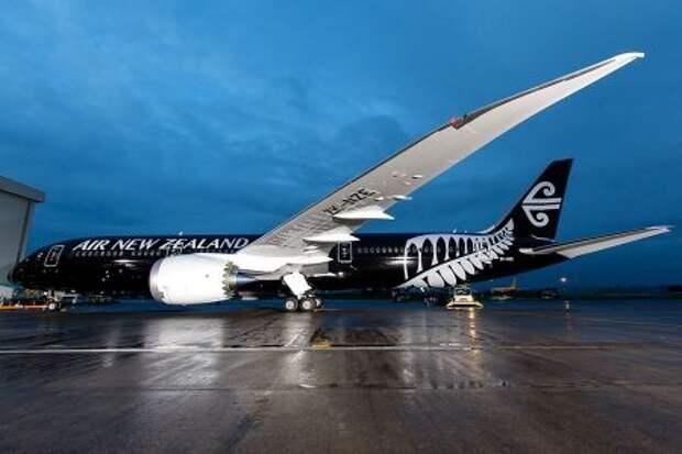 Boeing 787-9 авиакомпании Air Nwe Zealand