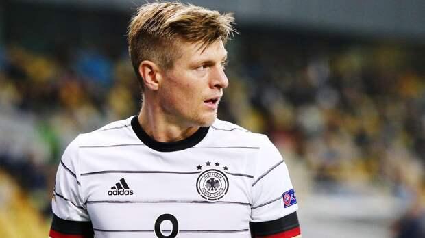 Кроос не сыграет за Германию в мартовских матчах квалификации ЧМ-2022 из-за травмы