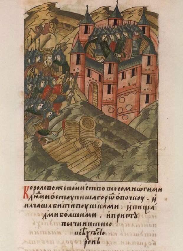 6 октября 1517 г. гарнизоном небольшой крепости Опочка, которым руководил наместник Василий Михайлович Салтыков, был отбит решительный штурм польско-литовского войска