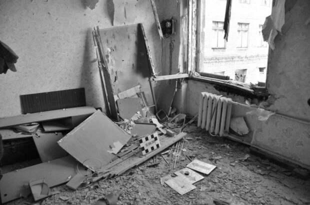 Огнём ВСУ уничтожены дома в Донецке