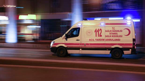 Семеро российских туристов пострадали в ДТП с микроавтобусом в турецкой Анталье
