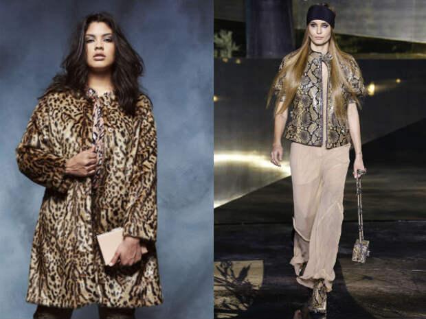 Верхняя одежда для полных осень-зима 2016-2017 Anna Scholz, H&M