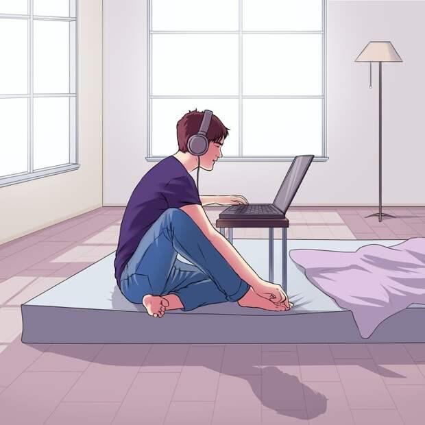 8 скрытых психологических проблем человека, о которых вам расскажет беспорядок у него дома