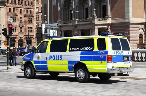 В Стокгольме полиция разогнала митинг против ограничений из-за пандемии