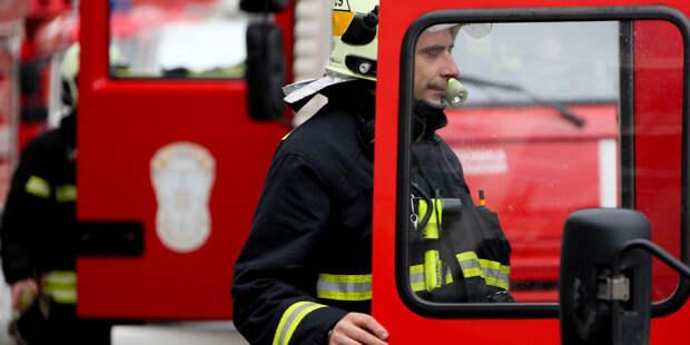 Пожар в деревообрабатывающем цехе в Приморье: пострадали три человека