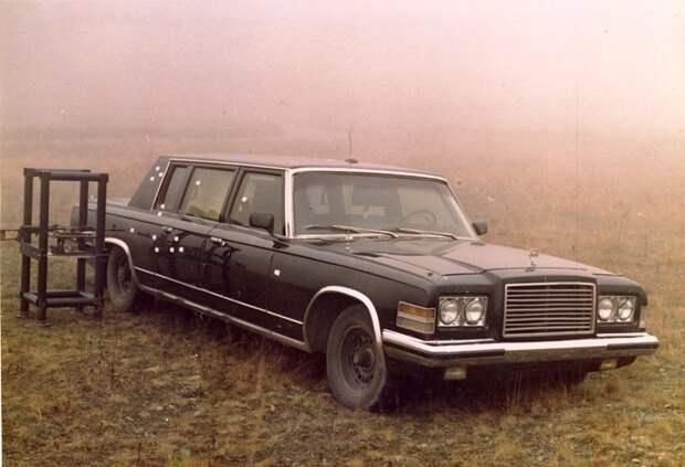 ЗИЛ-41047 – последний российский лимузин, выпущенный на Заводе имени Лихачёва
