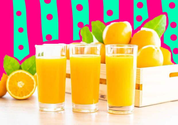Долой ожирение: апельсиновый сок может стать средством борьбы с лишним весом