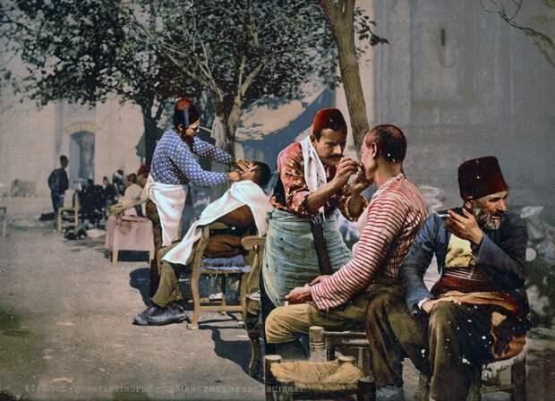 Цветные открытки Константинополя 7