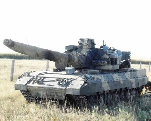Царь-танк Т-95 еще 18 лет назад получил убийцу Абрамсов - 152-мм пушку