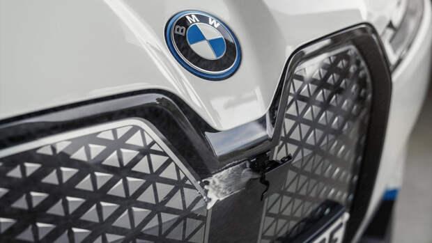BMW привезёт в Россию новый электрический кроссовер iX