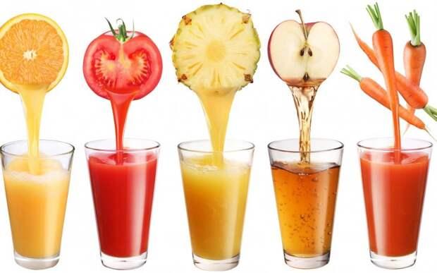 Как правильно пить фруктовые и овощные соки