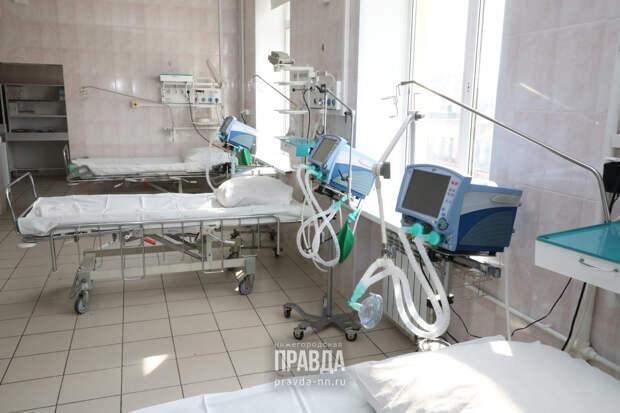 В нижегородских больницах 139 человек, заболевших коронавирусом, находятся в крайне тяжелом состоянии