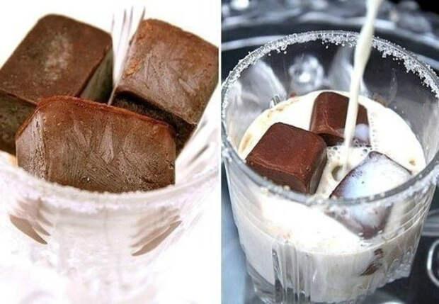 Кубики кофейного льда. | Фото: LiveInternet.