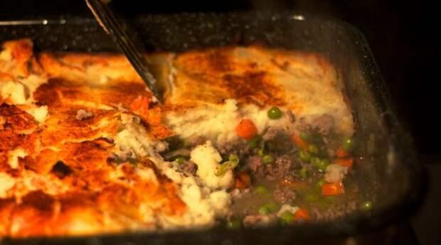 Что приготовить из фарша: Пастуший пирог