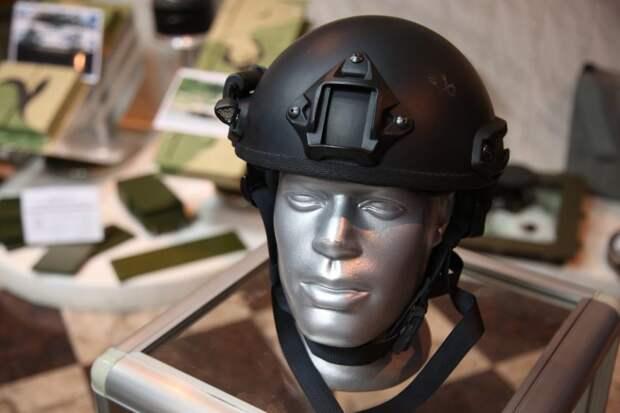 Инженеры из Восточного Дегунина разработали шлем нового поколения для Росгвардии